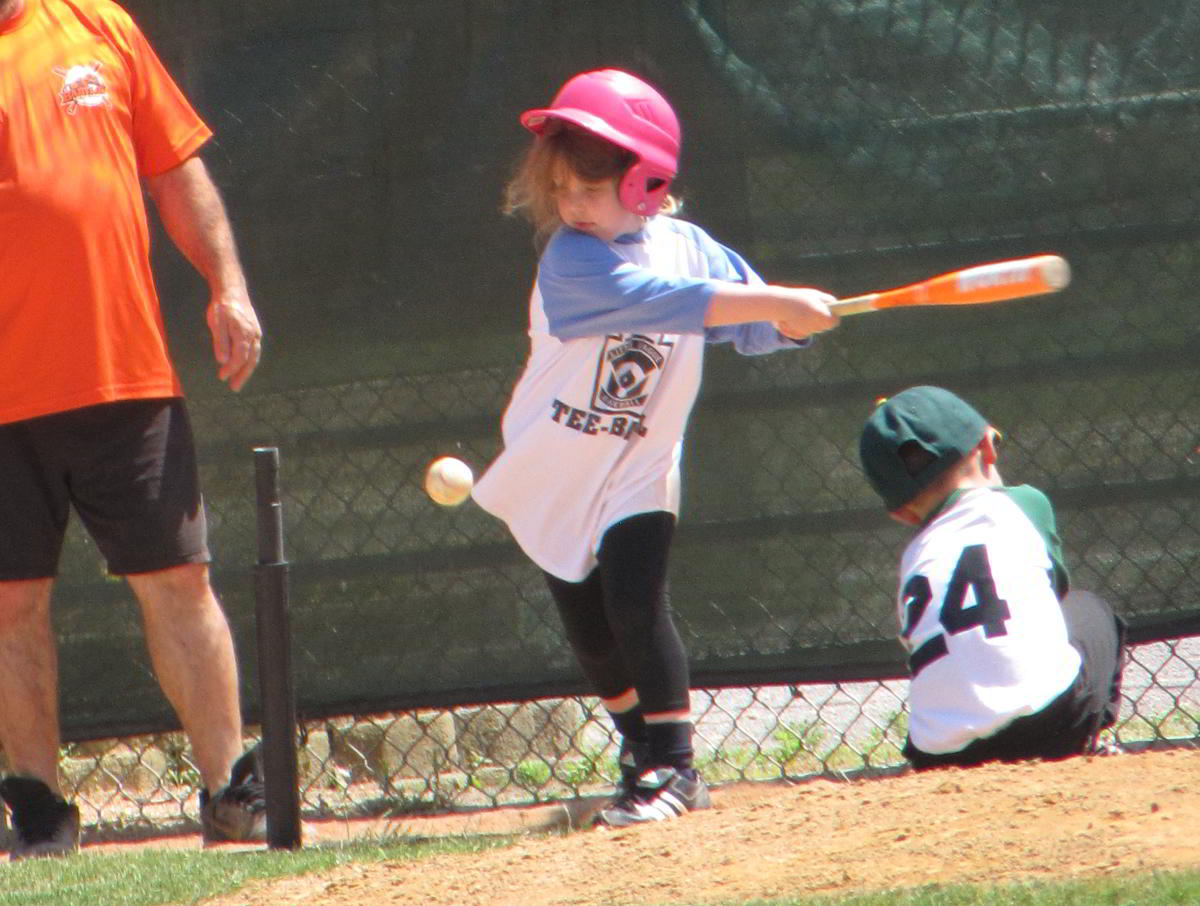 Saturday Morning Tee Ball Game