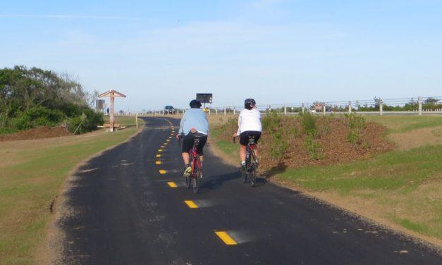 Ocean Parkway Coastal Greenway Construction Begins