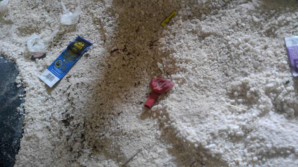 Drug and Alcohol Usage Behind Babylon Village Ball Fields
