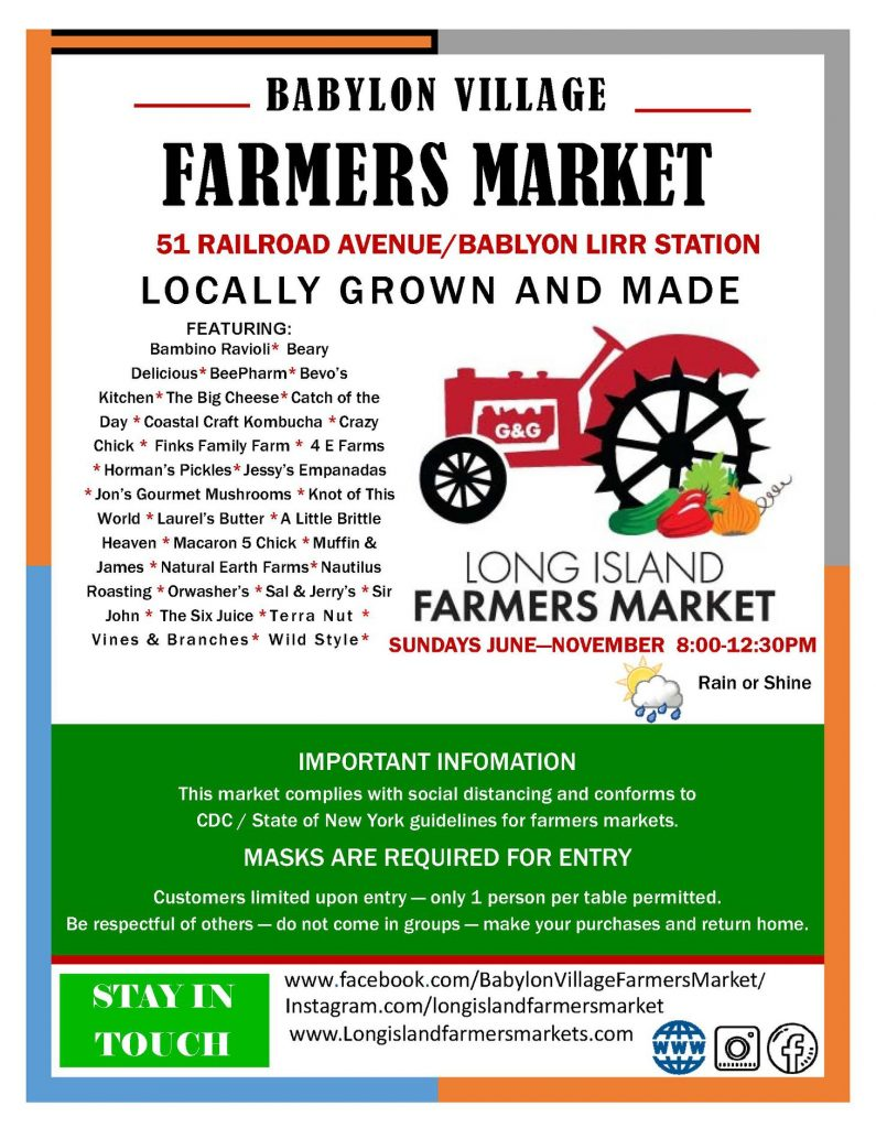 June 7 Farmers Market Flyer