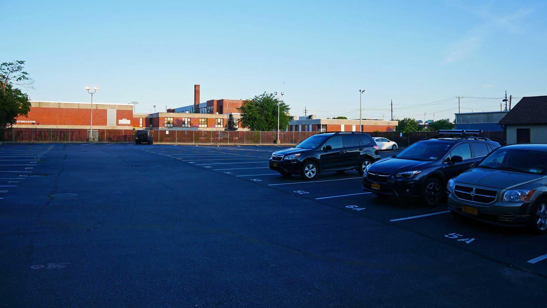 Parking Lot behind 180 Deer Park Ave