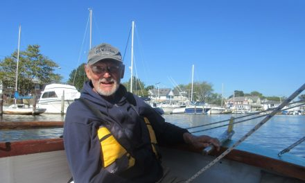Sailing The Sumpwams Creek With Tom Stock