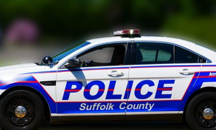 Collision With Police Vehicle on Little East Neck Road in Babylon
