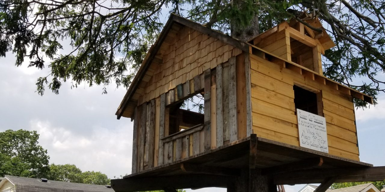 Tree House Man Suing Babylon Village For Two Million Dollars