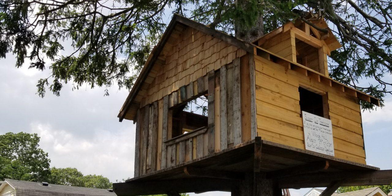 Babylon Village Fines Resident For Tree House